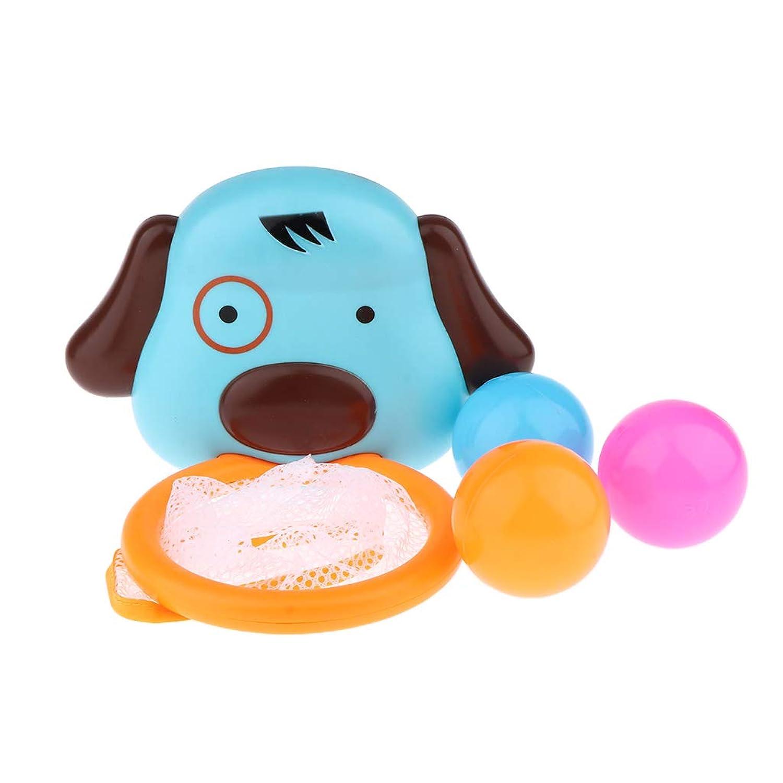 Perfeclan 子供 水のおもちゃ お風呂用おもちゃ バスケットボールフープ ボール 遊びおもちゃ