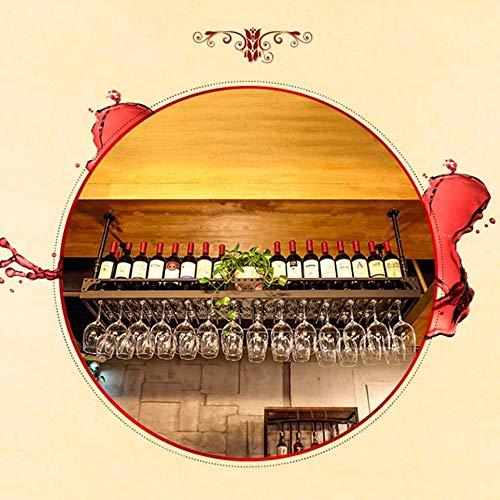Portabottiglie Da Parete, Creativo Supporto Bottiglie Regolabile In Altezza Supporto Per Vino Già Assemblato Per Vino Birra E Liquori Metallo,150x35cm