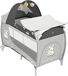 Cam Daily Plus Travel Cot, Grey, Piece of 1