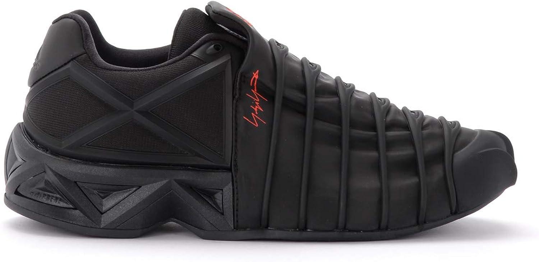 Adidas Turnschuhe Y-3 Yuuto Schwarz Mit Geometrischen Details Aus TPU, TPU, Größe Uk   Rabattverkäufe