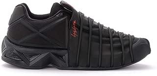 Y-3 Man's Yuuto Black Sneaker with Geometric TPU Details