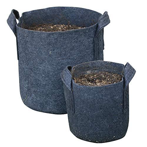 透水ポット20型 10個 家庭菜園 ガーデニング 不織布製 ポリエステル製 葉菜類 ほうれん草 春菊