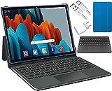 Tablet 10.1 Pulgadas Android 10.0,6GB RAM + 128GB (TF 512GB) ROM,5G WiFi 4G LTE, Dobles SIM1280x800 HD IPS, 5MP Cámara, Octa-Core, 7000mAh,Tablets Baratas y Buenas con Teclado y Ratón