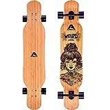 Apollo Dancer Longboard, 116,84 x 24,13 cm, Cuscinetti a Sfera ABEC 9, Skateboard Ragazza, Skateboard Professionale o Principiante, Skateboard Adulto per Trick di Ogni Tipo, Longboard Cruiser