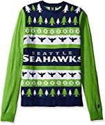 100% Acrylic Hand Made Sweater Perfect for Ugly Sweater Parties Officially Licensed by the NFL 100% Acrylic