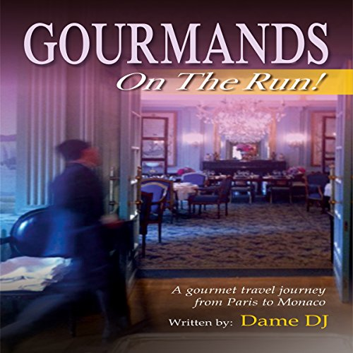 Gourmands on the Run! audiobook cover art