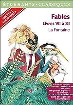 Fables - Livres VII à XI - spécial Bac 2020 de Delphine Urban