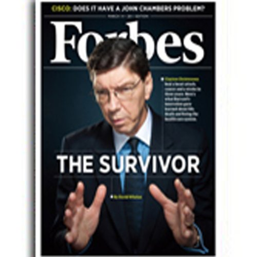 Forbes, February 28, 2011 cover art