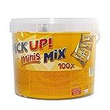 LEIBNIZ Keksriegel ´PiCK UP! minis Mix´, Vorteilsbox, Sie erhalten 1 Packung, Packungsinhalt: 100 Stück