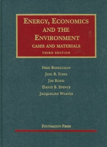 Energy, Economics and the Environment (University...