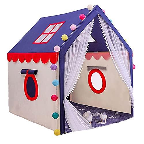 Tiendas de Niños Los Niños Juegan Carpa, Castillo De Juego Privado para Niños Interior Y Exterior, Soporte De Madera Maciza, Tienda De Gran Espacio (Color : Style 4, Size : 100x126x136cm)