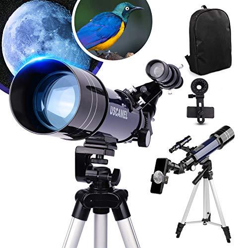 telescopio astronomico con mochila de la marca HUTACT