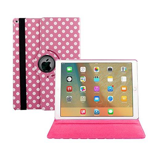 S-code - Funda para iPad Mini 5/4 (rotación de 360 Grados, función Atril, función de Encendido y Apagado automático), diseño de Varios ángulos