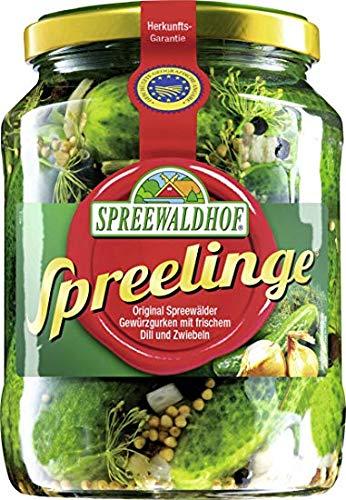 Spreewaldhof Spreelinge Cornichon Gherkins Spreelinge Spreewald 670g From Germany