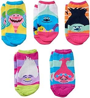 Dreamworks Trolls Poppy,Creek & Cooper Faces Shoe Socks - Multicolour