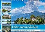 Italiens romantische Seen (Wandkalender 2019 DIN A2 quer): Traumhafte Eindrücke vom Lago Maggiore und Lago di Garda (Monatskalender, 14 Seiten )