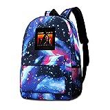 SFGHM Galaxy Printed Shoulders Bag Game Over Tommy Wiseau The Room Fashion Casual Star Sky Mochila para niños y niñas