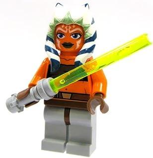LEGO Star Wars Minifigure Ahsoka with Lightsaber Clone Wars