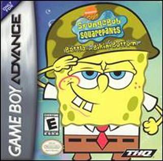 Spongebob Squarepants: Battle for Bikini Bottom for Gameboy Advanced