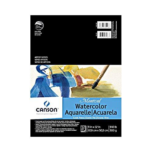 CANSON Artist Series, 9'X12', 0