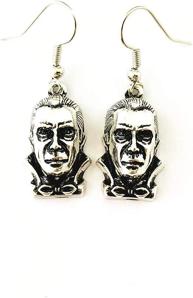 Family Babylon Classic Monsters Horror Dracula Earrings Gifts for Men Woman Girl