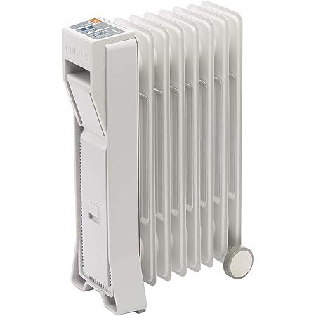 ユーレックス (eureks) オイルヒーター (暖房目安:3-8畳) LFシリーズ アイボリーホワイト LF8BS-IW