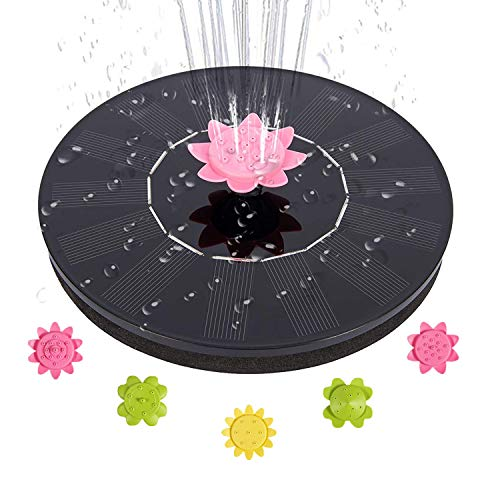 Solar Fountain Pump, 1.4W Solar Pow…