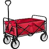 TecTake Heavy Duty Wheelbarrow Garden Trolley Cart
