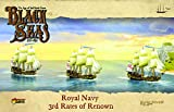 WarLord Black Seas The Age of Sail Royal Navy 3rd Rates of Renown for Black Seas...