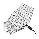 LYJZH Regenschirm, Winddichter, Stabiler Und Kompakter Großschirm, Schnell Trocken, Cartoon frische Sonnencreme Vinyl Schatten Regenschirm colour23 98cm