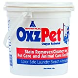 OxzPet Stain Remover, Color Safe Detergent Bleach Alternative, Removes Animal Odors and Stains, 33 Packets in 1 Pail