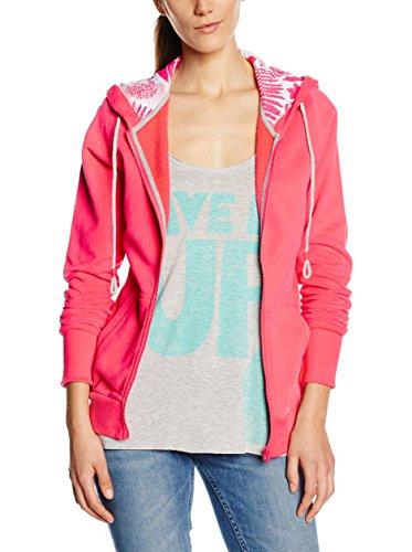 Chiemsee Damen Hodded Sweat Jacket Herja 2, Paradise Pink, S