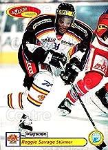 (CI) Reggie Savage Hockey Card 2001-02 Swiss Ice Hockey Cards 328 Reggie Savage