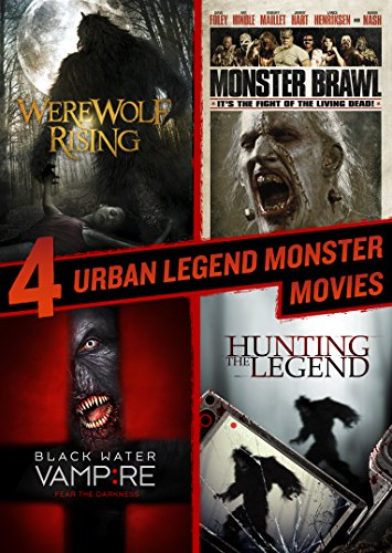 Hunting the Legend, Black Water Vampire, Monster Brawl, Werewolf Rising Quad