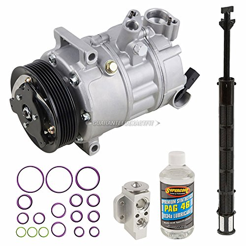 BuyAutoParts 60-81436RN NEW For Nissan Altima 2007-2012 OEM AC Compressor w//A//C Repair Kit