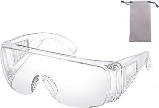 Occhiali PROTETTIVI Basic chiaro en166 STAFFA BLU Visitor laboratorio Occhiali Lavoro Occhiali di sicurezza