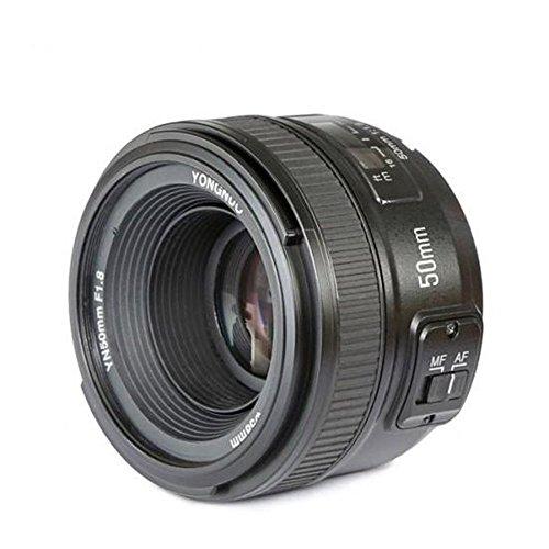 YONGNUO YN50 50mm F1.8 Lente Objetivo (Apertura F/1.8) para Nikon DSLR Cámara Fotografía, Enfoque Automático de Gran Apertura + NAMVO difusión