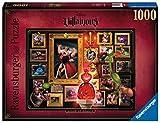 Ravensburger - Puzzle Villainous: Reina de corazones, 1000 piezas, Disney (15026)