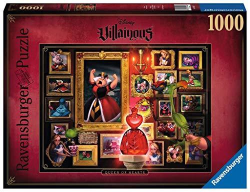 Puzzle Villainous: Reina de corazones, 1000 piezas, Disney (15026)