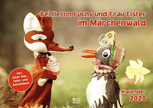 Bei Herrn Fuchs und Frau Elster im Märchenwald 2020: Kalender
