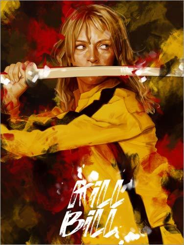 Póster 70 x 90 cm: Kill Bill de Dmitry Belov - impresión artística, Nuevo póster artístico