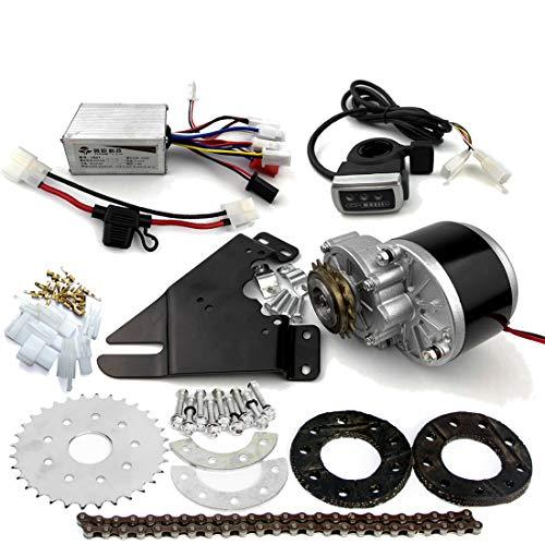 L-faster Neue Ankunft 250W elektrischer Umwandlungs-Installationssatz für allgemeines Fahrrad-linker Ketten-Antrieb kundengebunden für elektrisches gearedes Fahrrad-Schaltwerk (Thumb Kit)