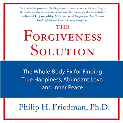 The Forgiveness Solution audiobook cover art
