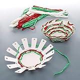 Baker Ross Kits de Tejido Cesta (Pack de 4) - Artes y manualidades festivas