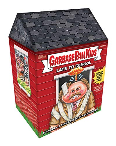 """Topps 2020 Garbage Pail Kids Series 1:""""Late to School Value Box"""