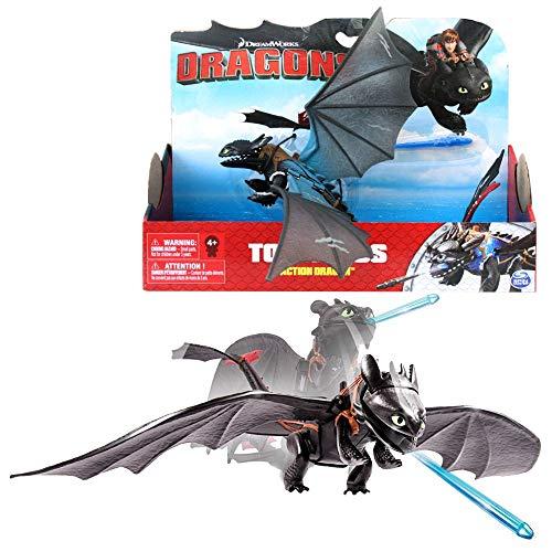 Dragons Titan Wing Dragón Desdentado | Dreamwork Juego de Acción | Toothless