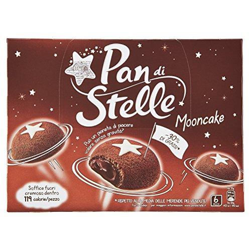 6x Mulino Bianco pan di Stelle Mooncake 6x 210g Snack Dessert