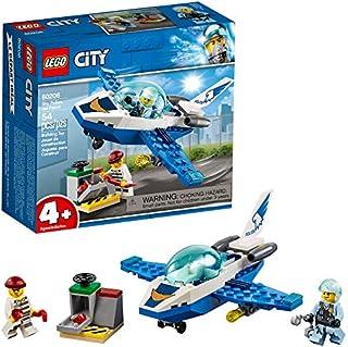 LEGO City Sky Police Jet Patrol 60206 Building Kit , New 2019 (54 Piece)