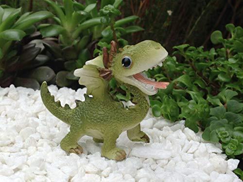 UNAMY ST Miniature Dollhouse Fairy Garden   Mini Dragon Figurine   Yard, Garden, Ornaments, Statues by UNAMY ST