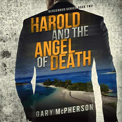 Harold and the Angel of Death audiobook cover art
